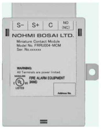 Module địa chỉ cho nút ấn báo cháy FRRU004-MCM